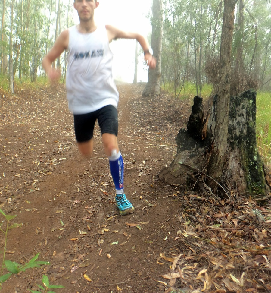 Ben_Duffus_run_down_Mt_Coot-tha